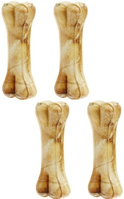 Pets Empire Pressed Dog Bone, (Medium 4-Inch) 4 Inch Bone X 4 Pcs Chicken Dog Chew(299 g, Pack of 1)  available at flipkart for Rs.295