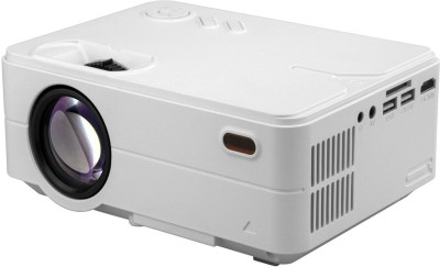 PLAY Portable 1080P High Definition Projector Portable Projector(White)