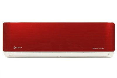 Koryo 1.5 Ton 3 Star Inverter AC  - Red, White(IRGKSIAO1818A3S INRG18, Copper Condenser)   Air Conditioner  (Koryo)
