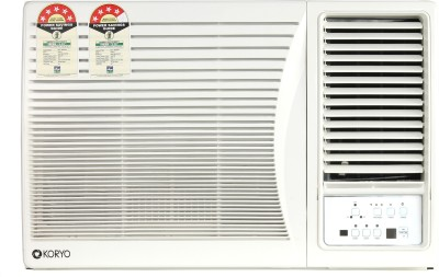 Koryo 1.5 Ton 5 Star Window AC  - White(KWR18ML5S, Copper Condenser)   Air Conditioner  (Koryo)