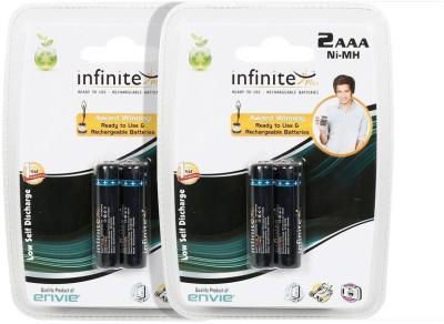 Envie AAA 1100 mA 1.2 V NiMH  4 Pcs.  Battery