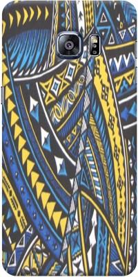 Varnika Back Cover for Samsung Galaxy S6 Edge Plus Multicolor