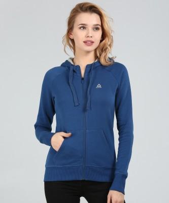 REEBOK Full Sleeve Solid Women Sweatshirt
