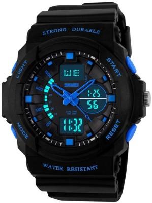 SKMEI 0955 Analog Digital Watch   For Men SKMEI Wrist Watches