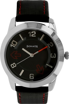 Sonata NH7924SL04C Yuva Analog Watch  - For Men
