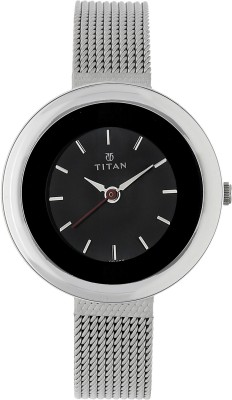 Titan NH2482SM02 Tagged Analog Watch   For Women Titan Wrist Watches