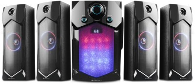 Zebronics ZEB-INDIE BTRUCF 4.1 105 W Bluetooth Home Theatre(Black, 4.1 Channel)