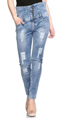 Fasnoya Skinny Women Light Blue Jeans