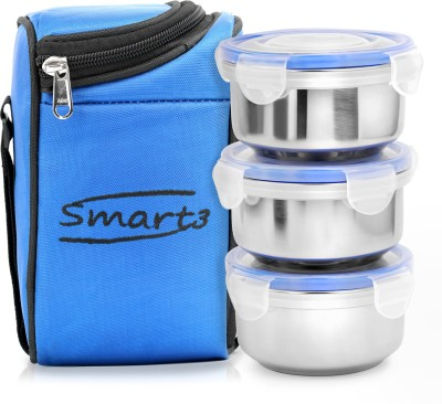 ZANELUX SMART 3 Containers Lunch Box 750 ml ZANELUX Lunch Boxes