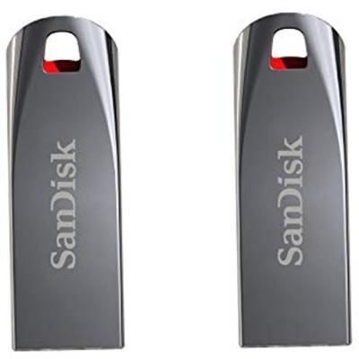 SanDisk cruzer blade 16  GB Pen Drive Silver