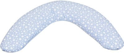 CAMBRASS Solid Baby Pillow Pack of 1(Blue)