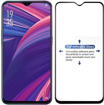 Micvir Edge To Edge Tempered Glass for Oppo F9, OPPO F9 Pro, Realme 2 Pro, Realme U1, Realme 3 Pro(Pack of 1)
