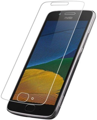 HARITHA MOBILES Tempered Glass Guard for MOTO G5 PLUS MOBILE TEMPERED GLASS ( PREMIUM GLASS )+(WET WIPES, DRY WIPES FREE!!!!)