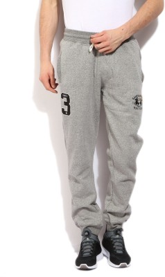 Santa Monica Solid Men Grey Track Pants at flipkart