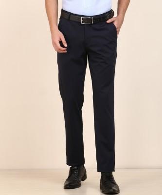 Wildcraft Regular Fit Men Blue Trousers