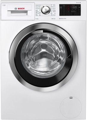 Bosch 9 kg Inverter Fully Automatic Front Load Washing Machine White(WAT28661IN) (Bosch)  Buy Online