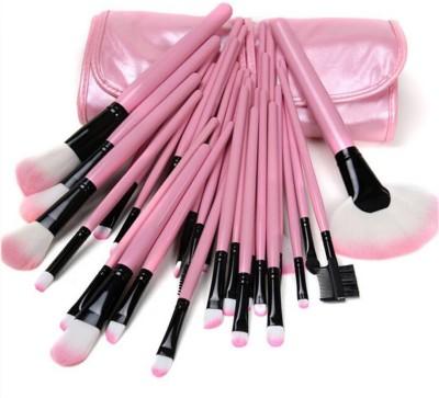 TUHI 24pcs Professional Portable Cosmetics Makeup Brush Set Kits face Make Brushes Pack of 24 TUHI Makeup Brush