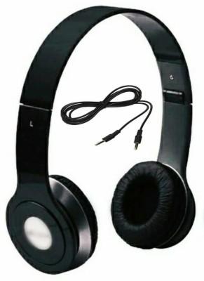 JIKRA Flintstop Zipper Headphones Black Headphone(Black, In the Ear) Wired Headset with Mic(Black, In the Ear)