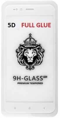 NaturalBuy Edge To Edge Tempered Glass for Xiaomi Redmi MiA2 (5D Tempered glass)(full body cover)(Pack of 1)