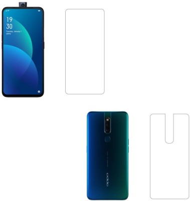 Discoverz Front and Back Screen Guard for OPPO F11 Pro, OPPO K3, Realme X(Pack of 1)