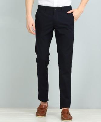 FUBAR Slim Fit Men Blue Trousers