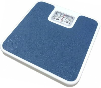 ZEOM ™Analog Weight Machine With 120 Kg Capacity, Mechanical Manual Weighing Scale(Blue) Weighing Scale(Blue)