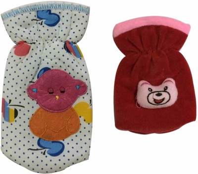 Cute Collection 2 piece Combo of Feeding Bottle Cover (Small & big Size)(Multicolor)