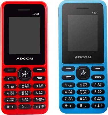 Adcom A101 Combo of Two(Blue & Red)
