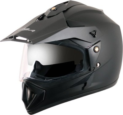 VEGA Off Road D/V Motorsports Helmet(Dull Black)