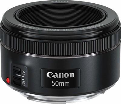 Canon EF 50 mm f/1.8 STM  Lens for Canon EF Mount(Black, 50)