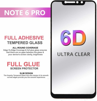 9H Edge To Edge Tempered Glass for Xiaomi Redmi Note 7 (6D Full Glue Tempered Glass)(9H Tempered Glass)(Pack of 1)