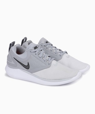Nike NIKE LUNARSOLO Running Shoes For Men(Grey) 1