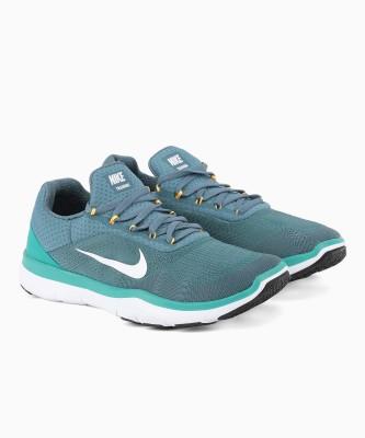 Nike NIKE FREE TRAINER V7 Training & Gym Shoes For Men(Green) 1