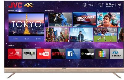 View JVC 140cm (55 inch) Ultra HD (4K) LED Smart TV(LT-55N7105C)  Price Online
