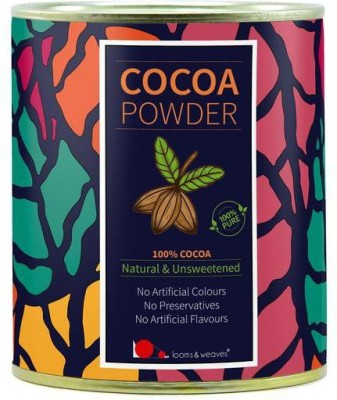 looms & weaves 100 % Pure & Natural Cocoa Powder From Kerala - 250 Gm Cocoa Powder(250 g)