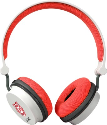 boAt Rockerz 400 Kings XI Punjab Edition Bluetooth Headset(Red, On the Ear)