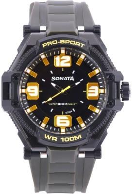 SONATA NH77029PP01CJ Superfibre Analog Watch   For Men SONATA Wrist Watches