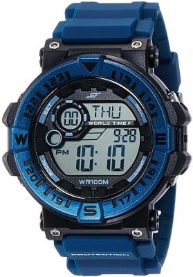 SF 77061PP03 Sonata Fibre Digital Watch   For Men SF Wrist Watches