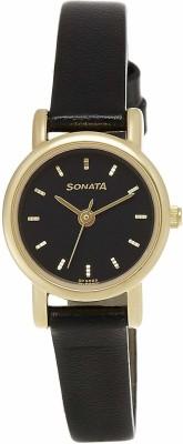 Sonata NF8976YL03CJ Analog Watch - For Women