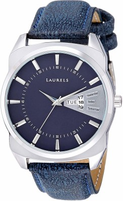 LAURELS Lo Inc 203 Invictus Day And Date Analog Watch   For Men LAURELS Wrist Watches