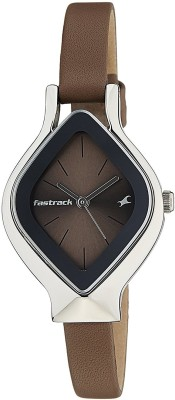Fastrack NG6109SL02C Analog Watch   For Women Fastrack Wrist Watches