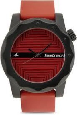 Fastrack NG38022PP09CJ Analog Multi Colour Dial Men's Watch (NG38022PP09CJ)