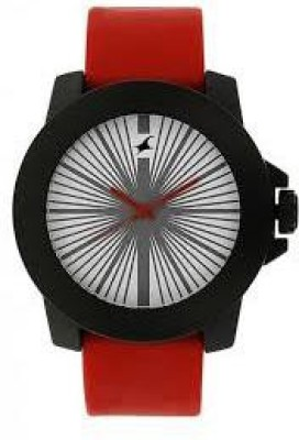 Fastrack NG38021PP03CJ Tees Analog Watch   For Men   Women Fastrack Wrist Watches