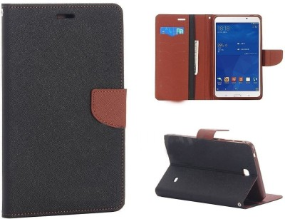 Eassy Store Flip Cover for Samsung Galaxy Tab 3 (7.0inch) P3200(Brown, Hard Case)