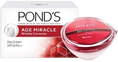 Ponds Age Miracle Wrinkle Corrector Day Cream SPF 18 PA++(50 g) at flipkart