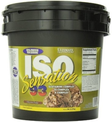 Ultimate Nutrition ISO sensation 93 Whey Protein(2.27 kg, Choclate Fudge)
