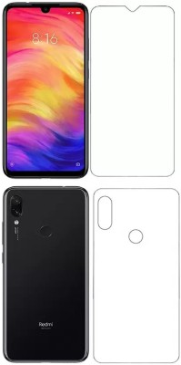 GS SMART Front and Back Tempered Glass for Mi Redmi Note 7, Mi Redmi Note 7 Pro, Mi Redmi Note 7S(Pack of 2)