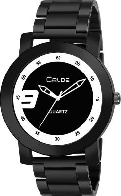 Crude rg2090 stylish black and white dial Analog Watch   For Men Crude Wrist Watches