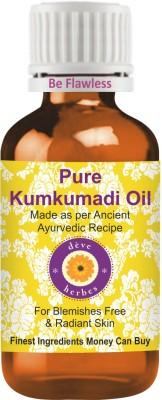 Deve Herbes Pure Kumkumadi Oil - Premium Quality-100% Natural Therapeutic Grade(30 ml)