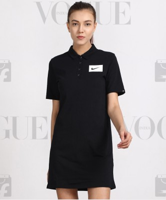 Nike Women T Shirt Black Dress